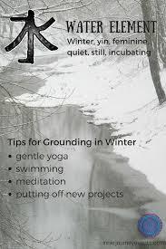 grounding water winter
